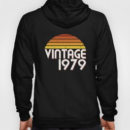 40th Birthday 40 Years Vintage Since 1979 Gift Hoody