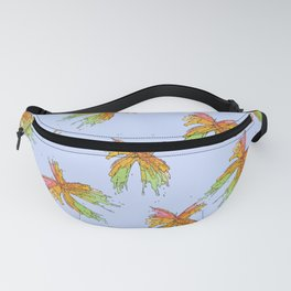 Butterfly with Blue Fanny Pack