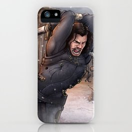 Fight against whitewalkers iPhone Case
