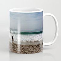 surfer Mugs featuring Surfer by ktyphoto