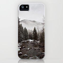 Mid Winter iPhone Case