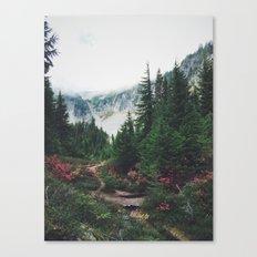 Mountain Trails Canvas Print