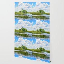 Everglades Reflections Wallpaper
