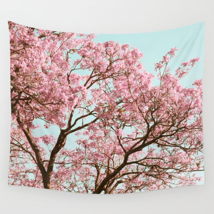 Cherry Blossom Wall Tapestry