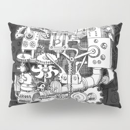Hungry Gears Pillow Sham