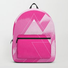 Fire Mountains Graphic Landscape Backpack