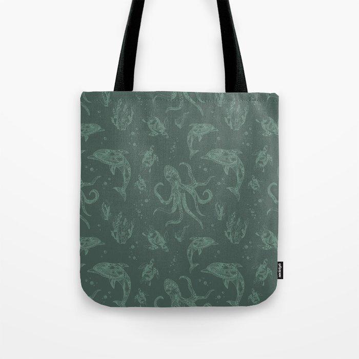 Shafted Sea Tote Bag