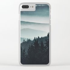 Mountain Light Clear iPhone Case