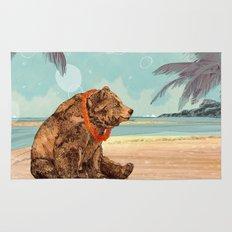 Beach Bear Rug