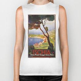 Ischia Island Italy summer travel ad Biker Tank