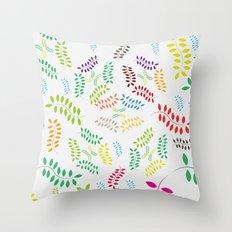 ORGANIC & NATURE (COLORS) Throw Pillow