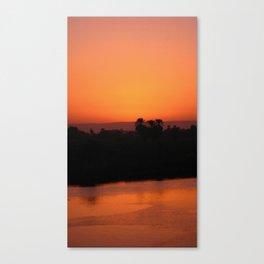 Nile Sunset Canvas Print