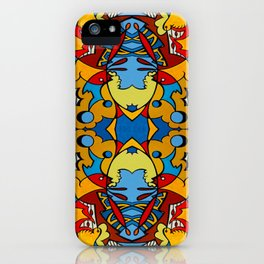 Polymogranate iPhone Case