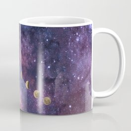 Abstract Outer Space Traveler Coffee Mug