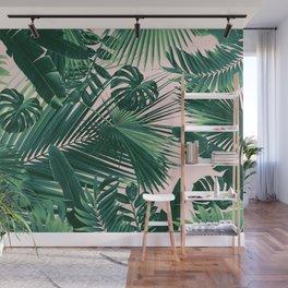 Jungle Leaves Siesta #1 #tropical #decor #art #society6 Wall Mural