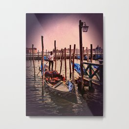 Venice in the evening Metal Print