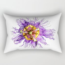 Passiflora incarnata Rectangular Pillow