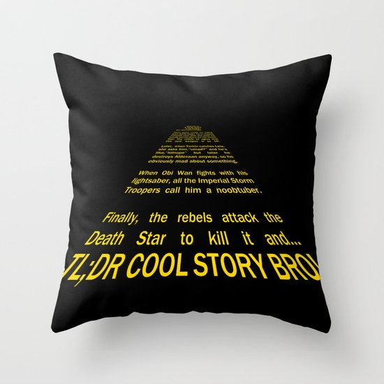 TL;DR Throw Pillow