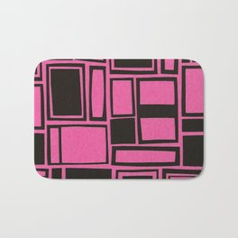 Windows & Frames - Pink Bath Mat