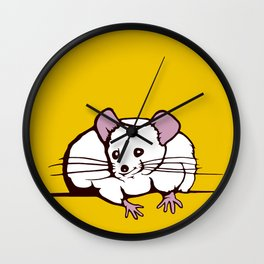 Fat mouse Wall Clock