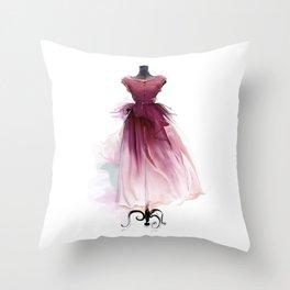 Beautiful dress Throw Pillow
