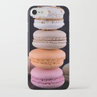 macaroons iPhone & iPod Cases featuring Macaroons  by Michael P. Moriarty