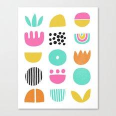 SIMPLE GEOMETRIC 001 Canvas Print