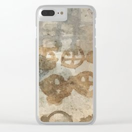 They flow east toward the sea Clear iPhone Case