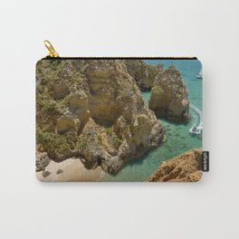 Small cove near Lagos, Portugal Carry-All Pouch
