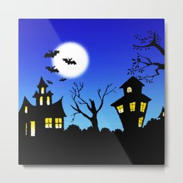 Halloween Nightmare Metal Print