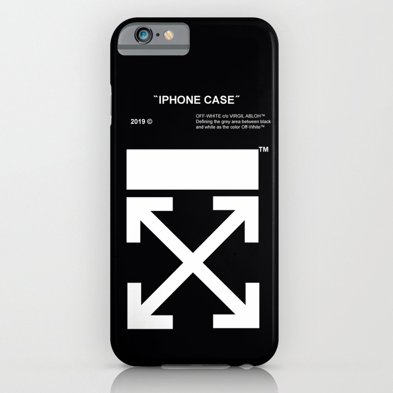 best service bdae1 15c0d OFF WHITE IPHONE CASE iPhone Case