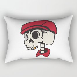 SkullChap Rectangular Pillow