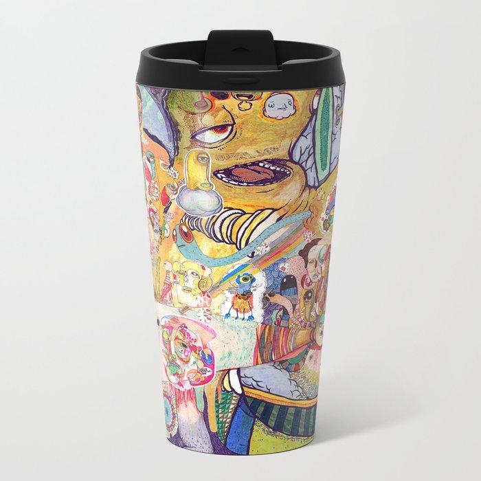monster of mind ( Renovate work 2008-2016) Metal Travel Mug