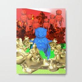 Invasion Metal Print