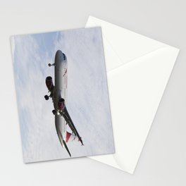 Austrian Airlines Airbus A321 Stationery Cards