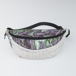 Water Fountain Plant Stand Fanny Pack
