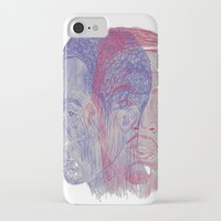 tupac iPhone & iPod Cases featuring You Got the Juice Now, Kid by Dazed N Amused