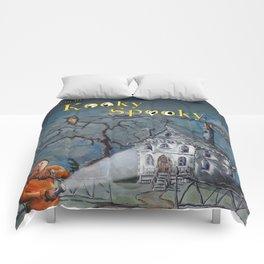 Marvin in the Kooky Spooky House Comforters