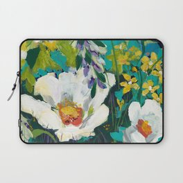 Poppy Clouds Laptop Sleeve