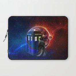 Tardis Dr Who of Nebula Laptop Sleeve