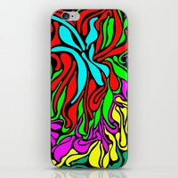 supreme iPhone & iPod Skins featuring Lava Supreme by clawsalina