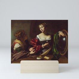 Elizabeth Jane Gardner, Martha and Mary Magdalene Mini Art Print