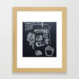 Idk Framed Art Print