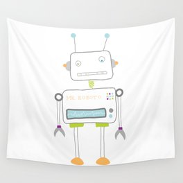 Mr. Roboto Wall Tapestry