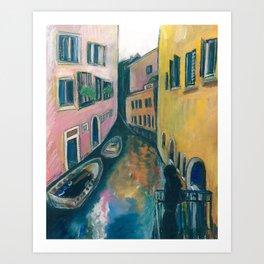 I dream of Venice Art Print