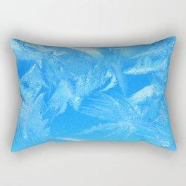 Frosty Blue Rectangular Pillow