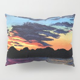 Cabin Sunset Pillow Sham