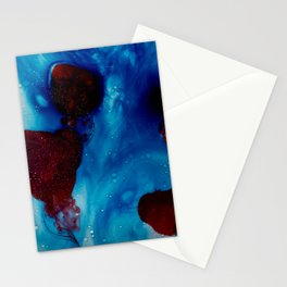 Dripping Hearts Stationery Cards
