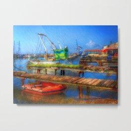 Little Harbour Metal Print