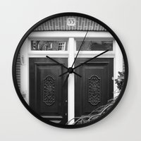 door Wall Clocks featuring door by habish